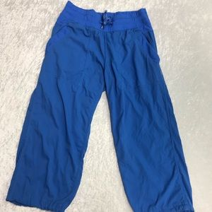 Lululemon Blue Studio Crop Pants